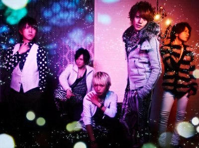 Alice Nine : New look pour Niji no Yuuki.