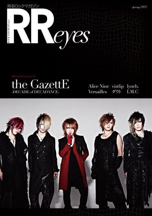 the GazettE :  New look pour DECADE part 2