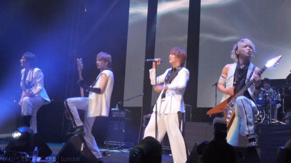 Alice Nine : Images du Sundown Festival 2012 + Goden Bomber : Dance My Generation Preview