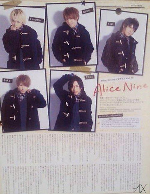News sur Golden Bomber !! + Images d'Alice Nine.