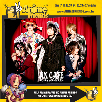 """News"" sur Alice Nine, An Cafe, ViViD et the GazettE."