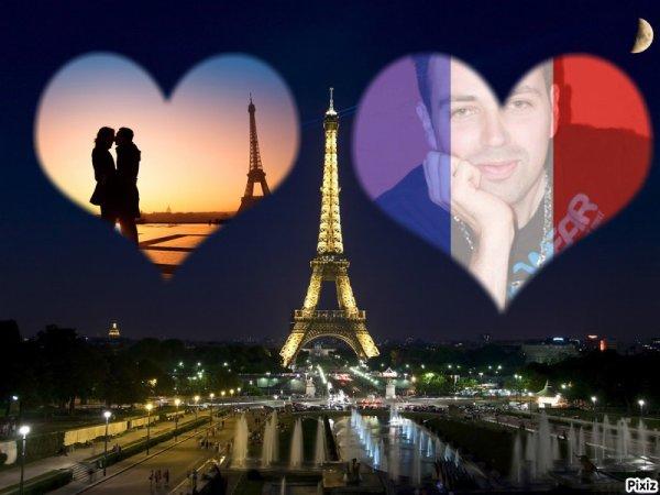 la jolie et aussi mème : et la grande ville ou tout les couples d'amours s'aiment à la passion et la folie ! bisous à notre magnifique et la belle capitale Française : <3 à Paris <3