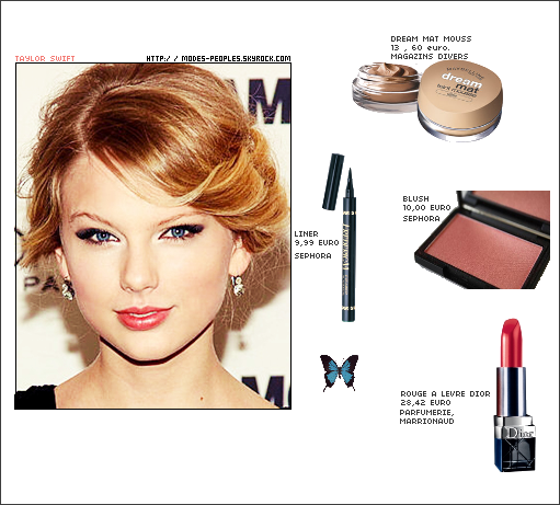 MAKE UP DE TAYLOR SWIFT . TU AIME ?