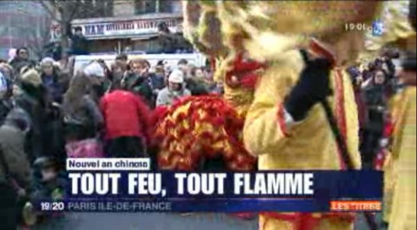 Nouvelle An Chinois - AACF - 2012 - France 3