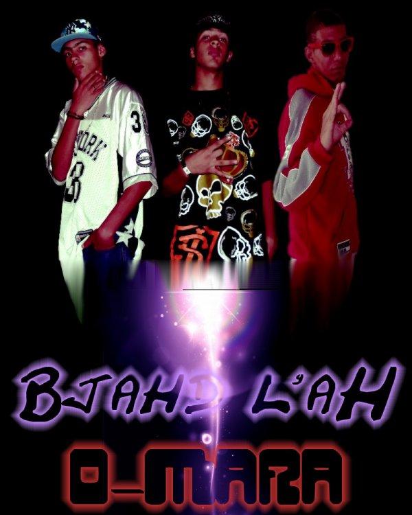 L'afiche D'album Bjahd l'ah From O-Mara