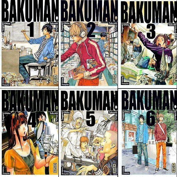 Extrait du tome 11 de Bakuman, un grand manga#