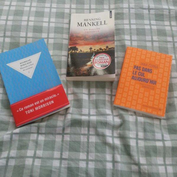 Livres lus récemment