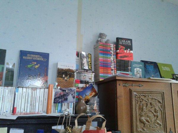 Ma bibliothèque s'agrandie...