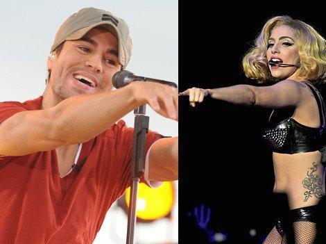 Enrique en du0 avec Lady Gaga ?