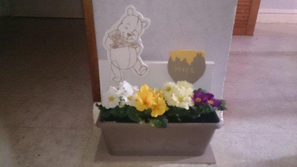 Notre dernière création avec les fleurs