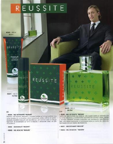 Parfum REUSSITE de Frédéric M