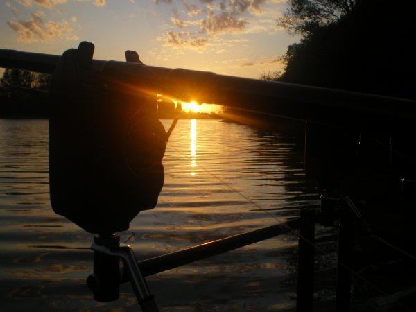 beau coucher de soleil a la session du 29 au 30 août 2011