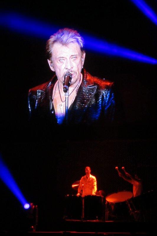 ♫ Johnny Hallyday ♫ en concert à Genève ♫ 2 juin 2012 ♫