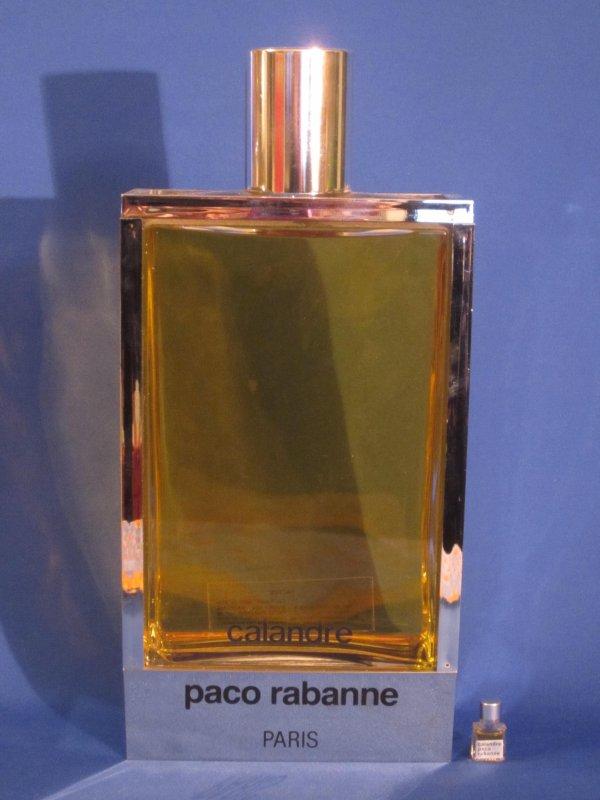 """✿ Rabanne Paco - CALANDRE - Factice """"géant"""" et sa mini ✿"""