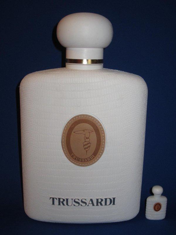 """✿ Trussardi - DONNA - Factice """"géant"""" et sa mini  ✿"""