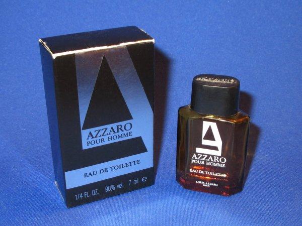 """✿   Azzaro  - AZZARO 9 POUR HOMME - Factice *géant"""" et sa mini  ✿"""
