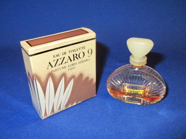 """✿ Azzaro - AZZARO 9 POUR FEMME - Factice """"géant"""" et sa mini  ✿"""