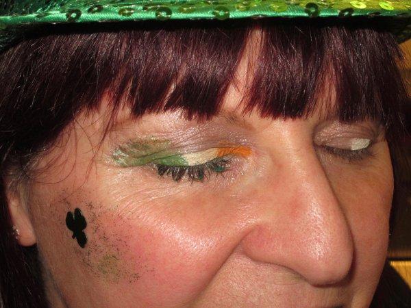 ♥  Mes essaies de maquillage / déguisement  St-Patrick ♥