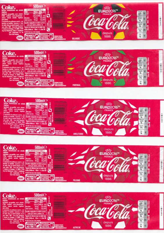 ♥ Coca-Cola Collection - EURO 2016 ♥