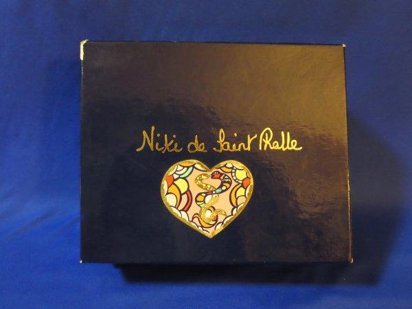✿ St Phalle (Niki de)  - boîte vide pour version St-Valentin ✿