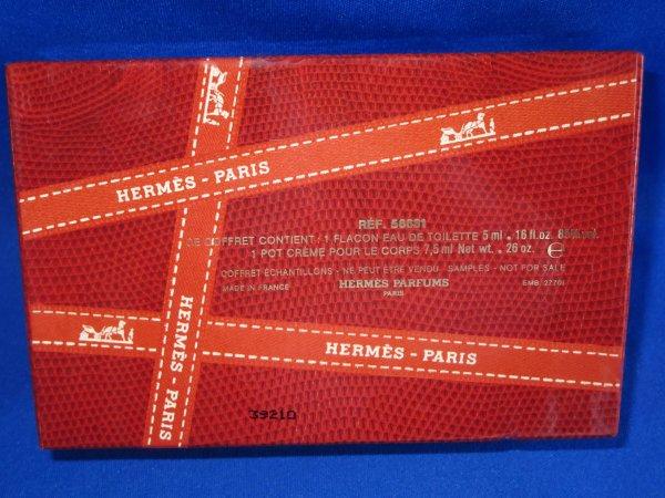 ✿ Hermès - PARFUMS D'HERMES - coffret ✿