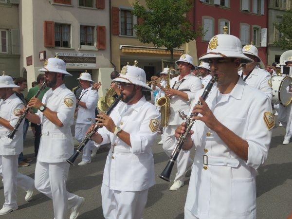 ♥ Tattoo - Défilé de la Parade à Avenches (Vaud / Suisse) / 3 sept. 2016  - 1/4 ♥