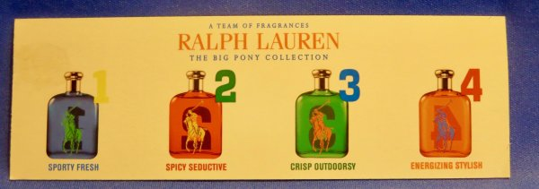 ✿  Lauren Ralph - THE BIG PONY COLLECTION FOR MEN ✿