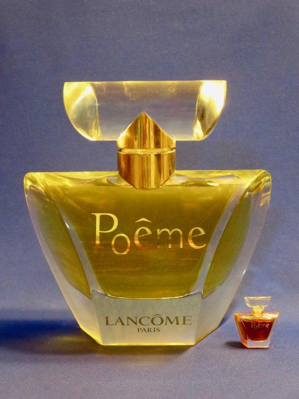 """✿ Lancôme - POÊME - Factice """"géant"""" et sa mini ✿"""