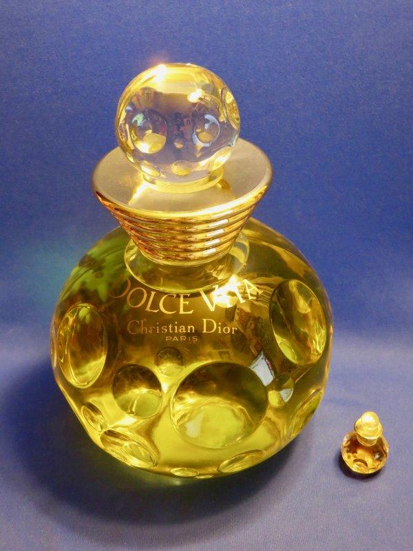 """✿ Dior - DOLCE VITA - Factice """"géant"""" et sa mini ✿"""