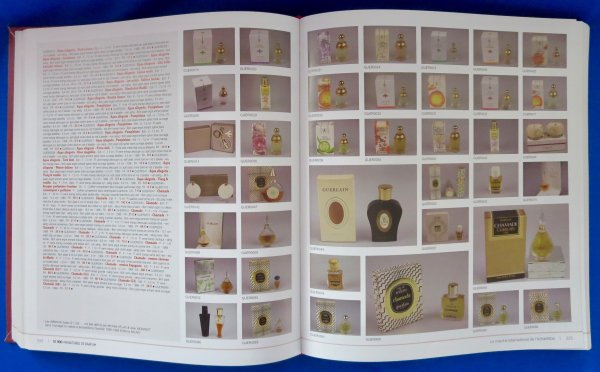Collection olfactive en livres