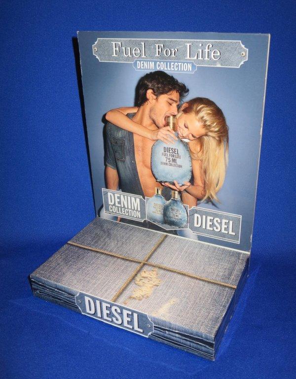 ✿ Diesel - FUEL FOR LIFE - présentoir ✿