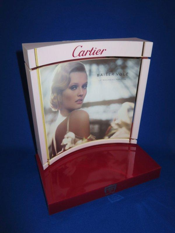✿ Cartier - BAISER VOLE - présentoir ✿