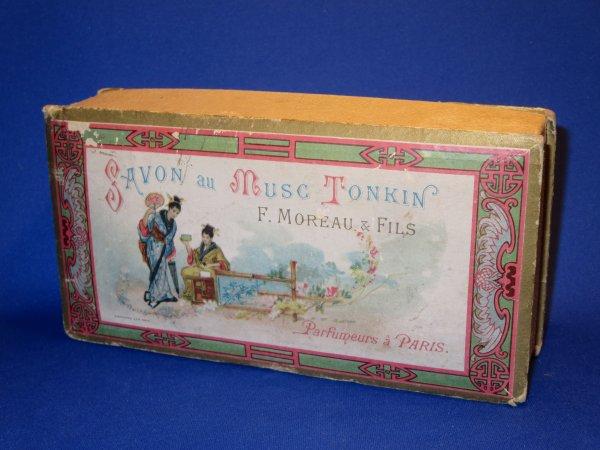 ✿ Moreau F & Fils - boîte vide pour savons ✿