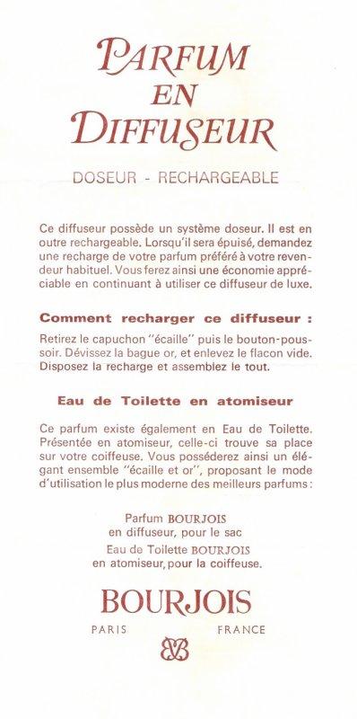 ✿ Bourjois - SOIR DE PARIS - vapo de sac  ✿