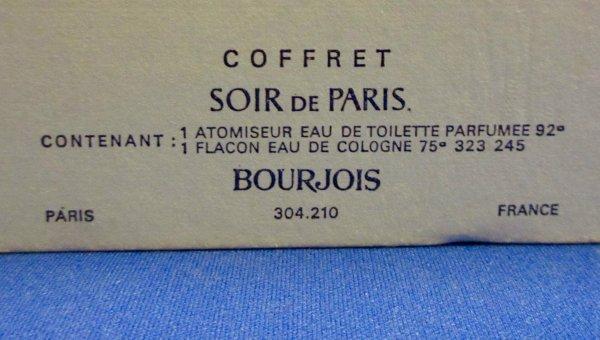 ✿ Bourjois - SOIR DE PARIS - coffret  ✿