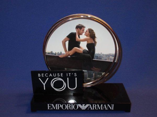 ✿ Armani Giorgio - BECAUSE IT'S YOU - présentoir ✿