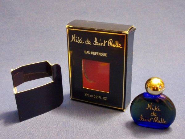 ✿ St Phalle (Niki de) - EAU DEFENDUE - mini avec écriture dorée ✿