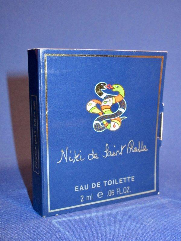 ✿ St Phalle (Niki de)  🌸  EAU DEFENDUE  🌸  échantillon ✿