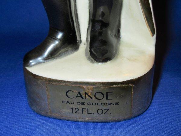✿ Dana  - CANOE - général d'Empire - flacon en faïence émaillé ✿