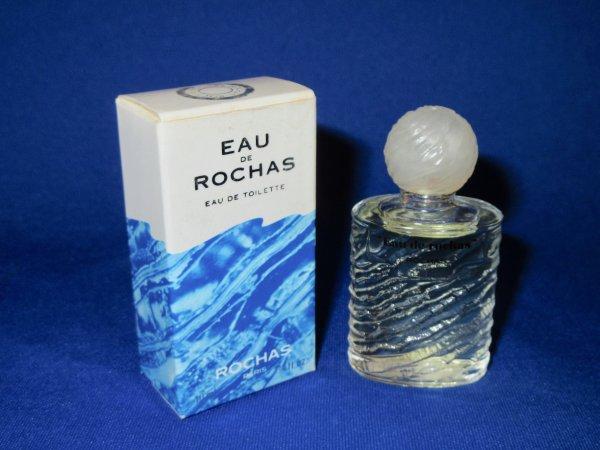 ✿ Rochas Marcel - EAU DE ROCHAS - Factice géant et sa mini ✿