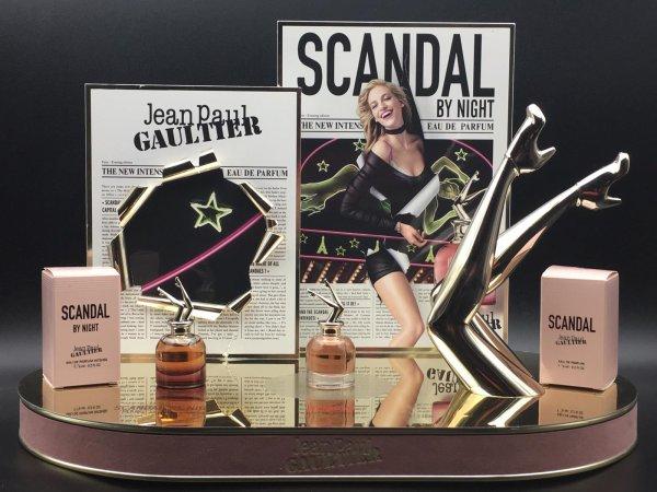 ✿ Gaultier Jean Paul - SCANDAL & SCANDAL BY NIGHT - présentoir ✿
