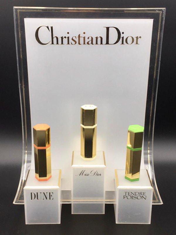 ✿ Dior Christian - MULTI PARFUMS - présentoir ✿