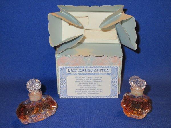 ✿ Parfums Colette - LES MARGUERITES - répliques de Lalique en minis ✿