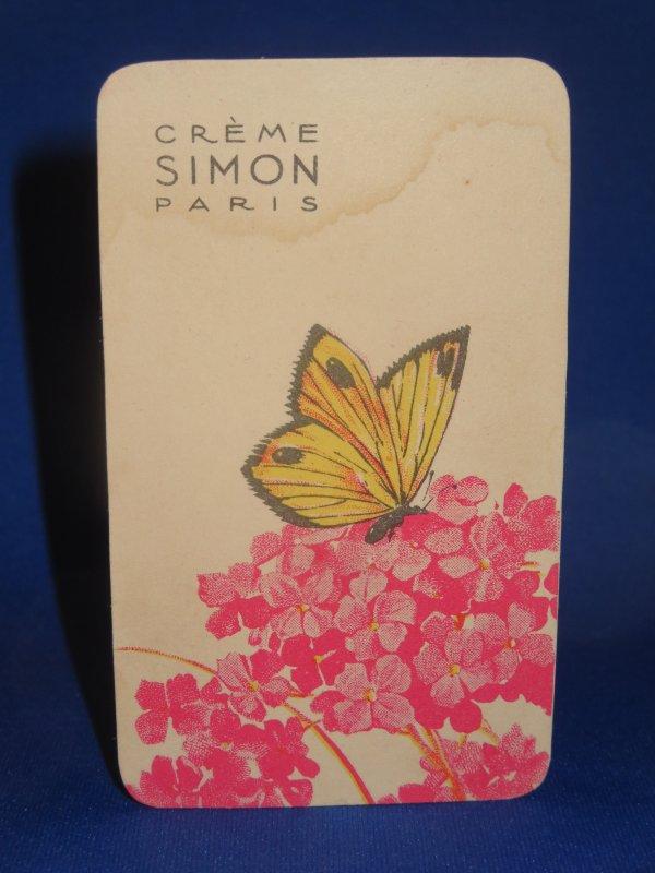 💌 Crème Simon 💌 carte parfumée 💌
