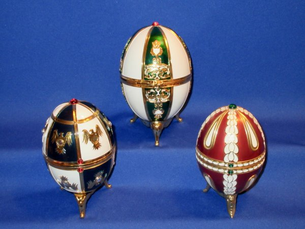 """✿ Arthes Jeanne - Collection BJP  - flacons oeuf style """"Fabergé"""" ✿"""