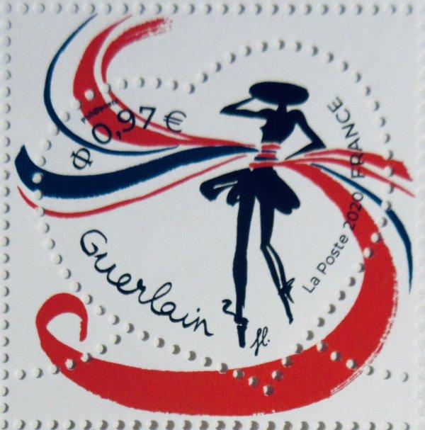 💖 💖  Guerlain + La Poste  💖 LA PRN 💖  timbres St-Valentin 2020 💖