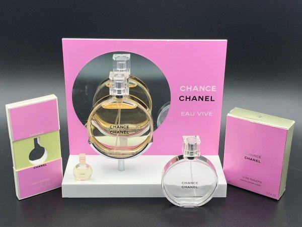 ✿ Chanel - CHANCE - présentoir ✿