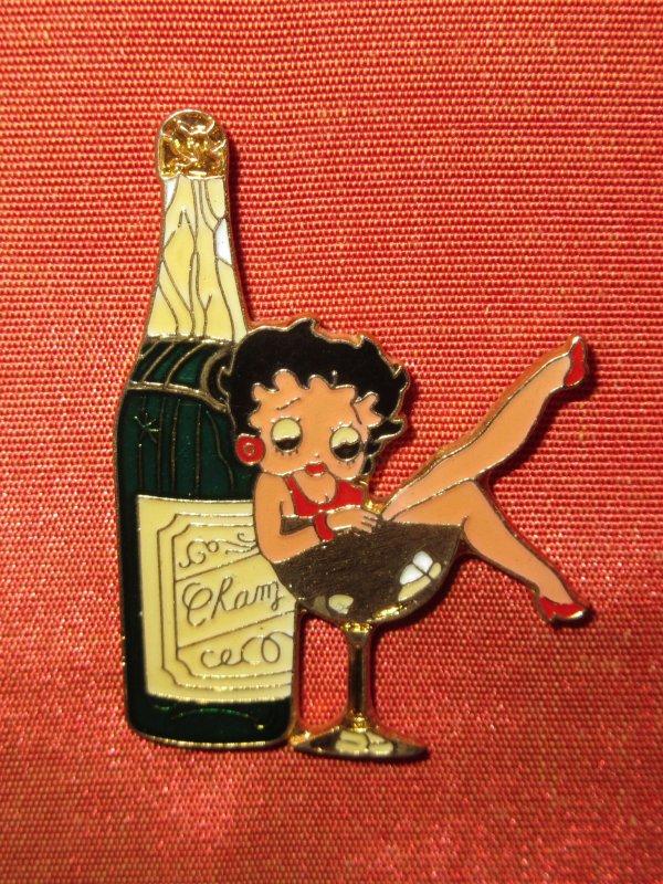 💜 Betty Boop - pin's 💜