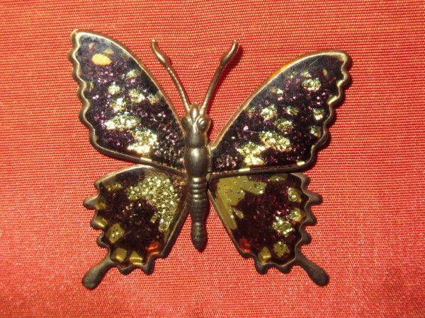 💜 Papillon - pin's 💜