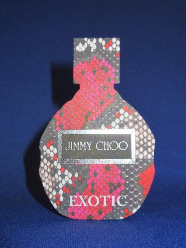 💌 Choo Jimmy 💌 carte parfumée 💌